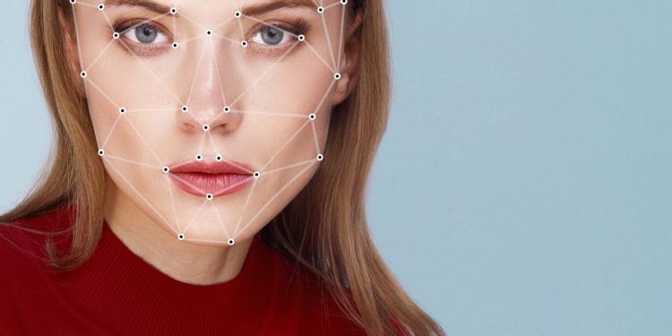 Biometric verification woman face detection